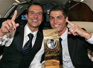 Foto: Jorge Mendes, el hombre más poderoso del fútbol, desembarca en el Real Madrid