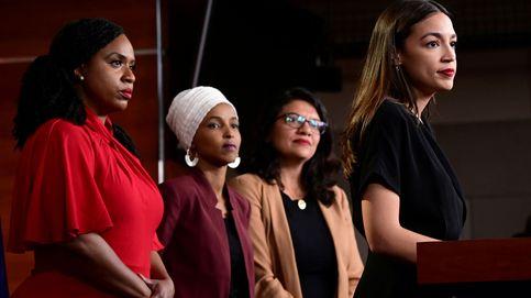Ocasio-Cortez y el 'squad' de mujeres que se enfrentan a Trump, reelegidas