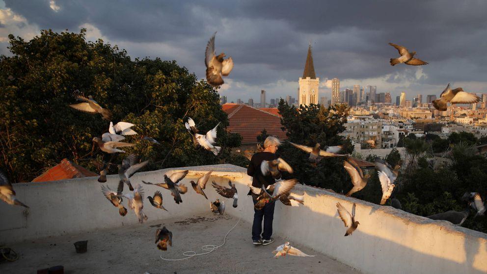 Vida en las terrazas de Tel Aviv