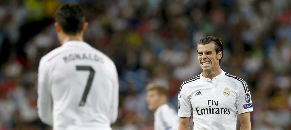 Cristiano y Bale ponen en peligro a gol limpio la figura del '9' en el Real Madrid