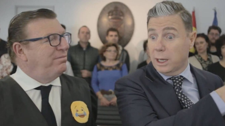 Foto: Los Morancos en una imagen de la parodia sobre Urdangarin