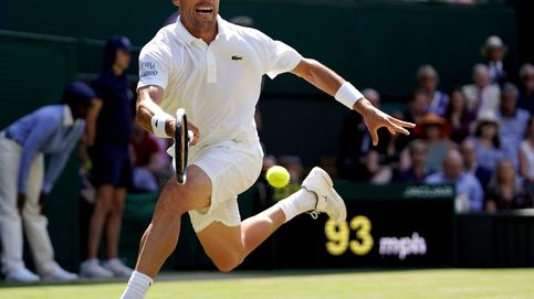 Roberto Bautista cae ante Novak Djokovic, que disputará la final de Wimbledon