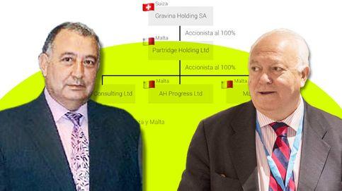 El holding ligado a Moratinos usó firmas en Suiza y Malta para sus negocios con Obiang