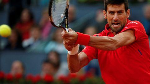 Djokovic sirve la mejor final posible, que no es la que Madrid quería
