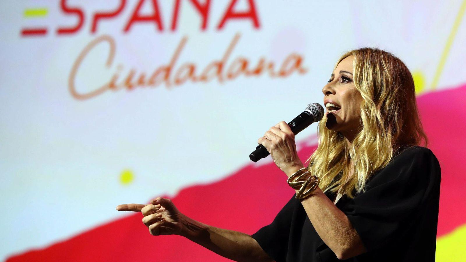 Foto: En la presentación de la plataforma España Ciudadana. (EFE)