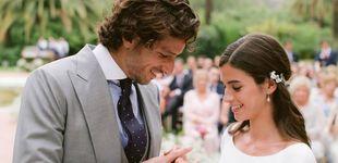 Post de Las fotos de la boda de Feliciano y Sandra Gago, paso por paso: del 'sí, quiero' al fiestón