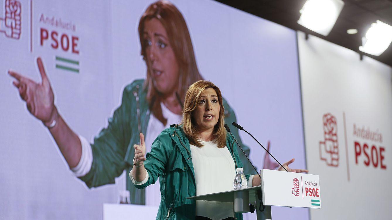 Susana Díaz comunica al PSOE andaluz que parte con ganas y pensando en Andalucía