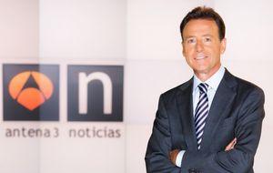 Matías Prats, al frente del informativo que más debilita a Antena 3