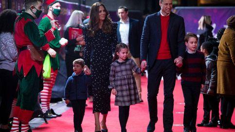 George, Charlotte y Louis estrenan alfombra roja junto a sus padres