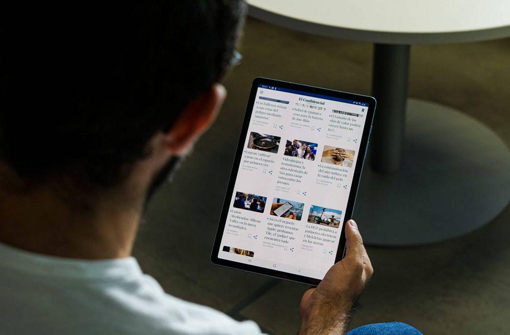 Foto: La Samsung Tab S6. (M. Mcloughlin)