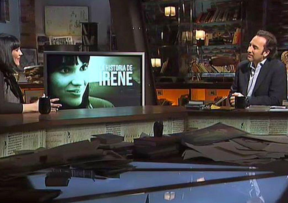 Foto: Irene Villa entrevistada por Iker Jiménez en 'Cuarto Milenio' (Cuatro)