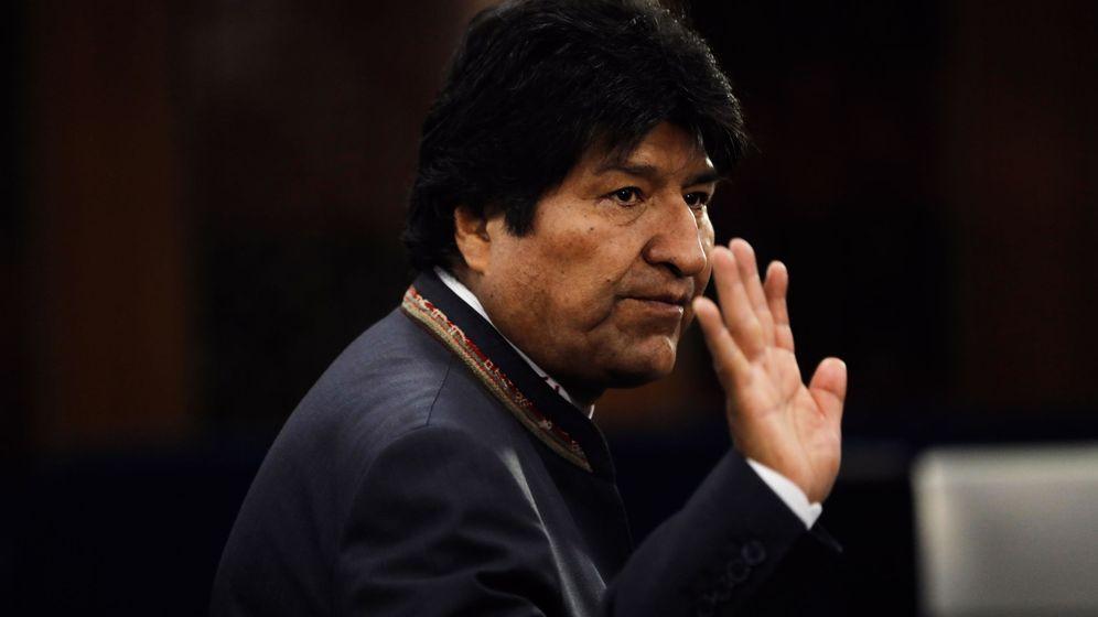 Foto: El presidente de Bolivia, Evo Morales, anuncia su renuncia. (EFE)