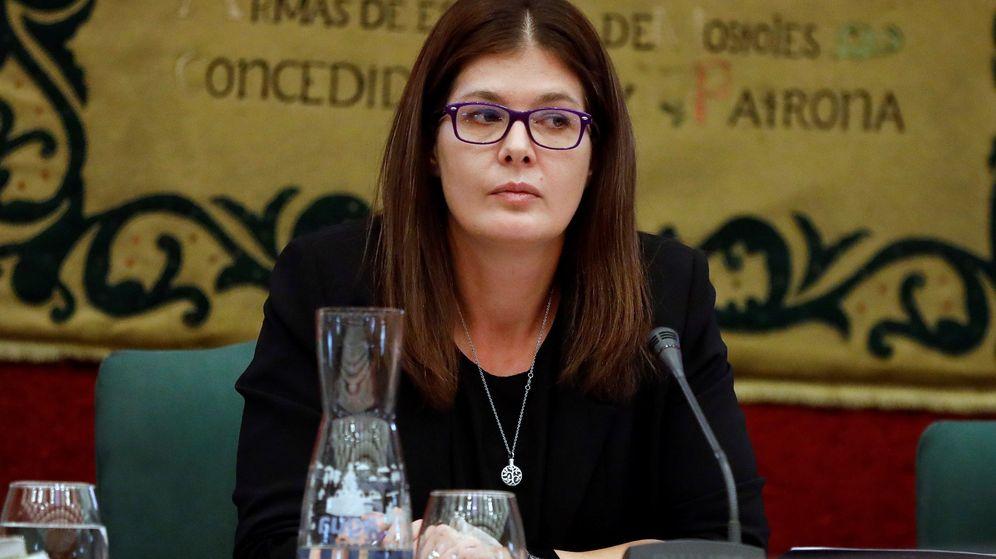 Foto: Pleno para la reprobación de la alcaldesa de Móstoles, Noelia Posse. (EFE)