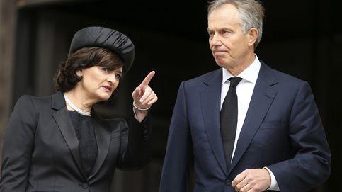 La separación encubierta de Tony y Cherie Blair según la prensa inglesa