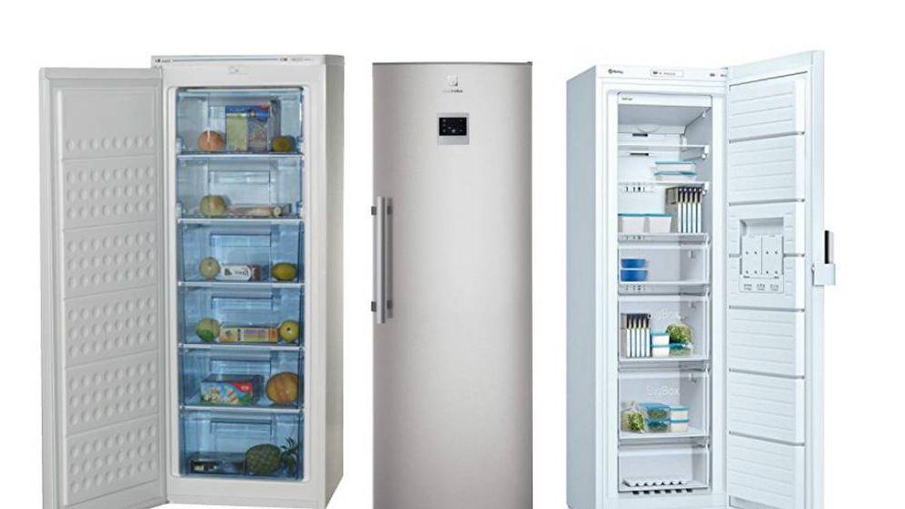 Los mejores congeladores verticales para almacenar comida congelada