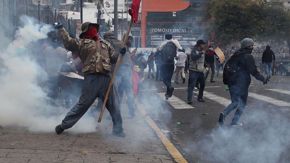 El estado de excepción en Ecuador es fruto de la ruptura del contrato social correísta