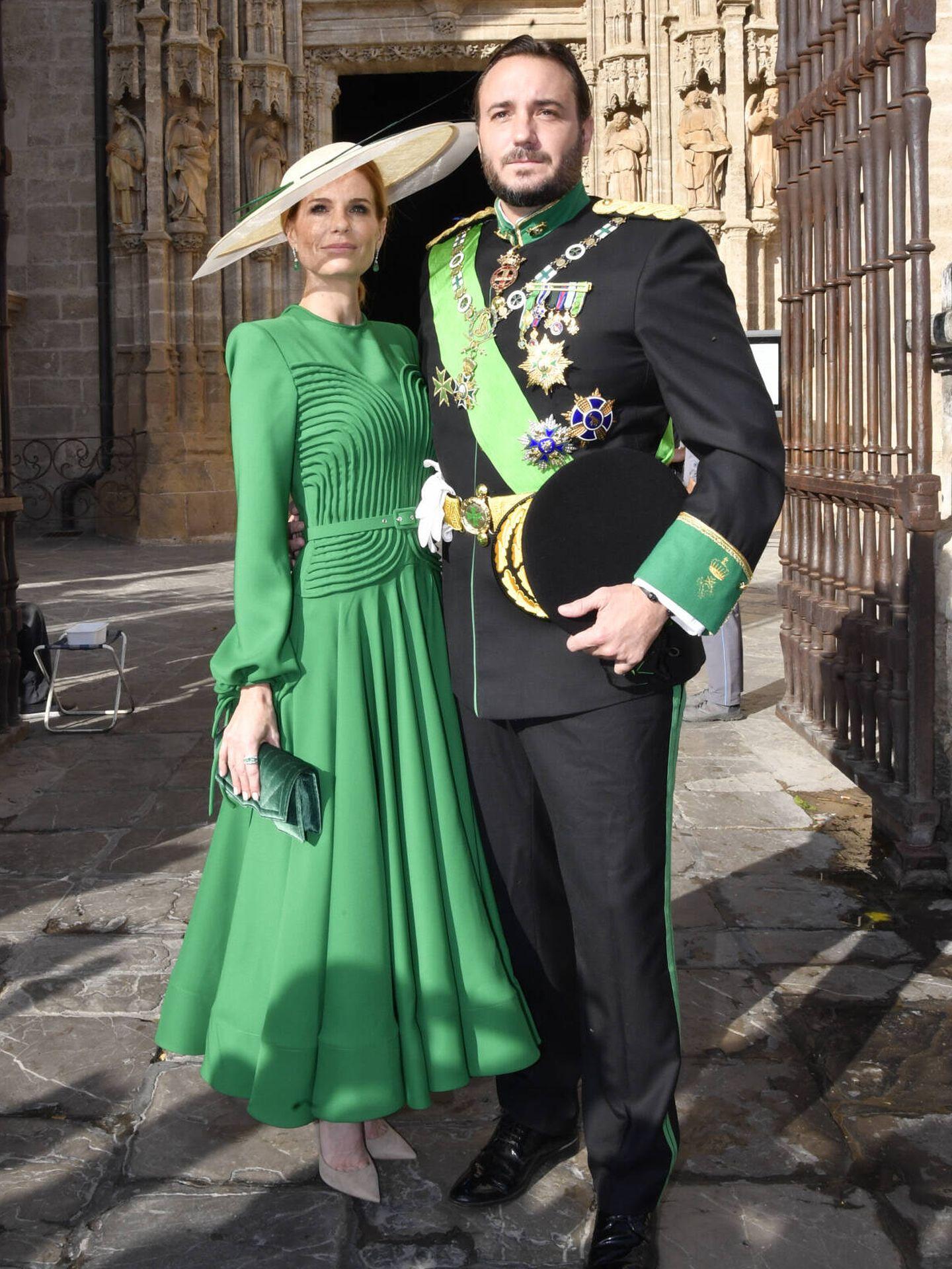 Francisco y Olivia de Borbón. (Gtres)