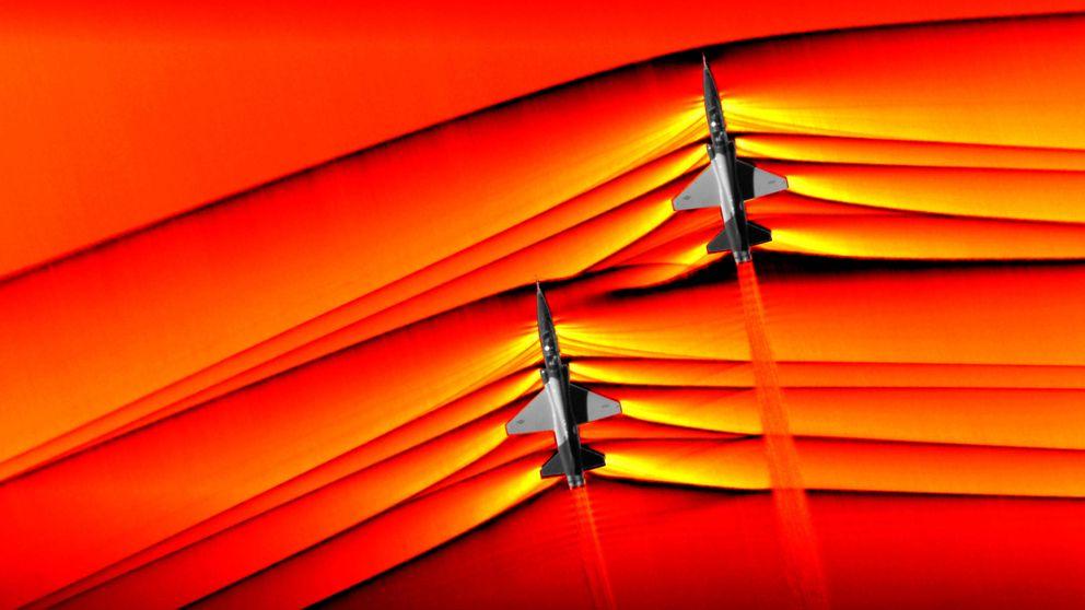 La NASA consigue captar en una foto cómo se rompe la barrera del sonido