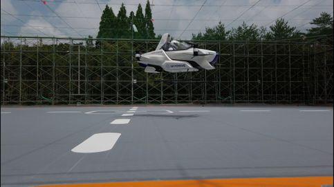 El coche volador japonés supera su despegue con éxito (y un tripulante a bordo)