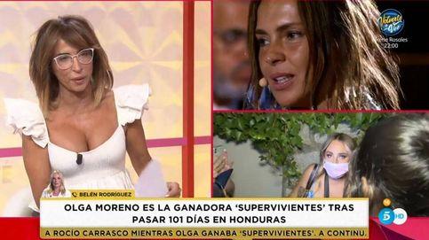 Belén Ro frena a Patiño con una pregunta intencionada sobre Olga Moreno y 'SV'