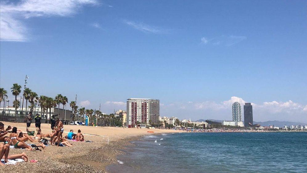 Foto: Playa de Sant Sebastià. (Europa Press)