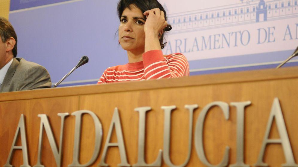 Foto: La secretaria general de Podemos en Andalucía, Teresa Rodríguez. (EFE)