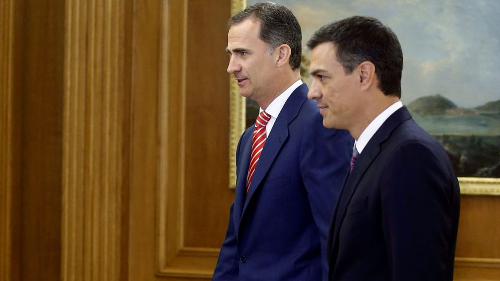 Sánchez exige a Rajoy ir a la investidura y no descarta intentar él una alternativa
