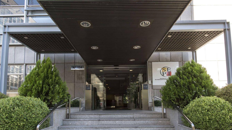 Foto: Foto de la entrada a la sede de SEPI.
