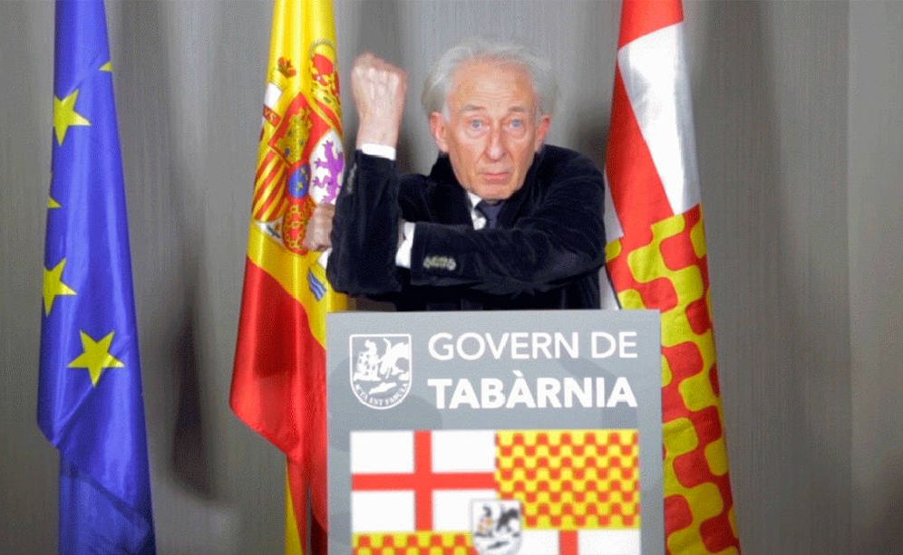 Foto: Albert Boadella, presidente de Tabarnia.
