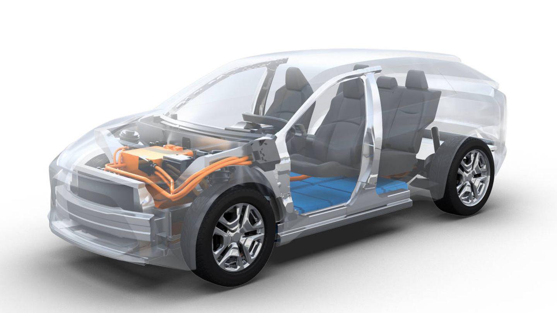 La plataforma eTNGA permitirá un desarrollo rápido de nuevos modelos eléctricos y la reducción de costes.