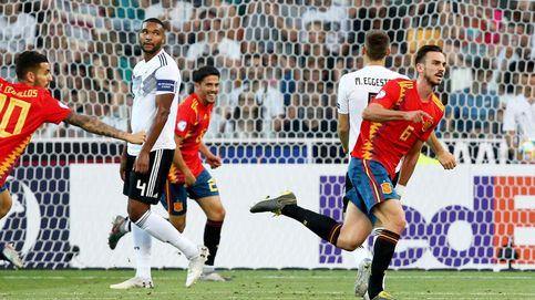 España Sub 21 en directo frente a Alemania en la final del Europeo