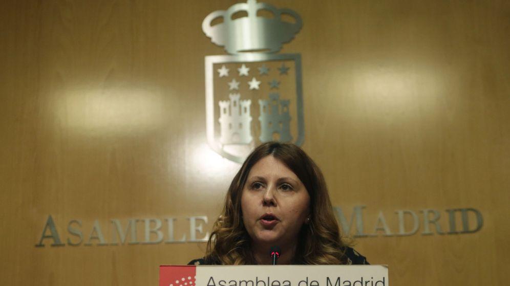 Foto: La diputada de Ciudadanos, Eva Borox, dimite por su relación con la Púnica. (EFE)
