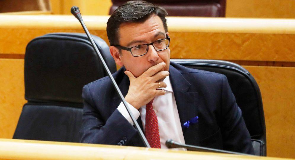 Foto: Román Escolano, ministro de Economía, Industria y Competitividad. (EFE)