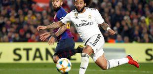 Post de La derrota de Marcelo en el Real Madrid y cómo Solari no le quiere dejar caer