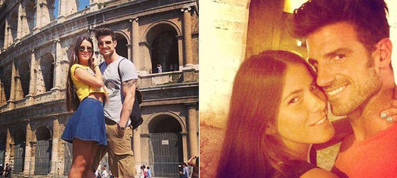 Foto: Aitor Ocio y Covi Riva en una dos imágenes de Instagram