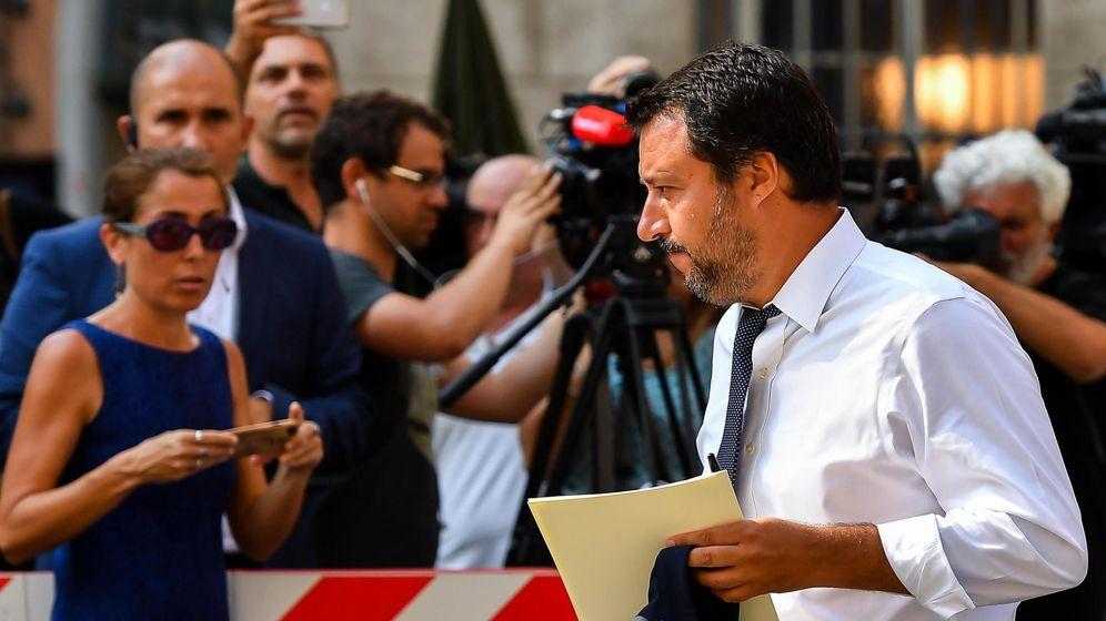 Foto: El ministro de interior italiano, Matteo Salvini. (Reuters)