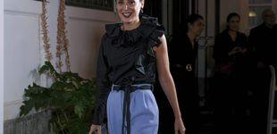 Post de Tamara Falcó combate (con estilo) los días de lluvia gracias a este outfit
