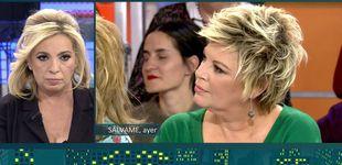 Post de La nefasta reacción de Terelu cuando 'Sálvame' vejó a su hermana Carmen