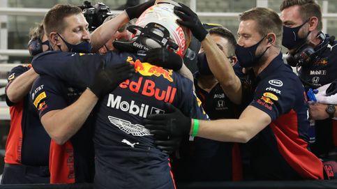 Verstappen saldrá primero en Abu Dabi: Sainz, sexto y Pérez, muy retrasado