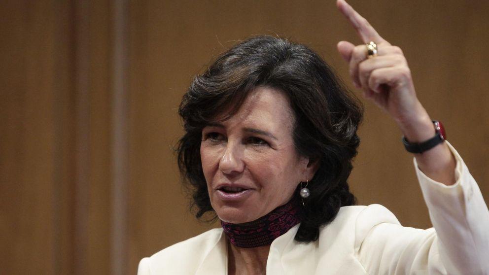 Santander cae un 14% para ajustarse al precio de la ampliación