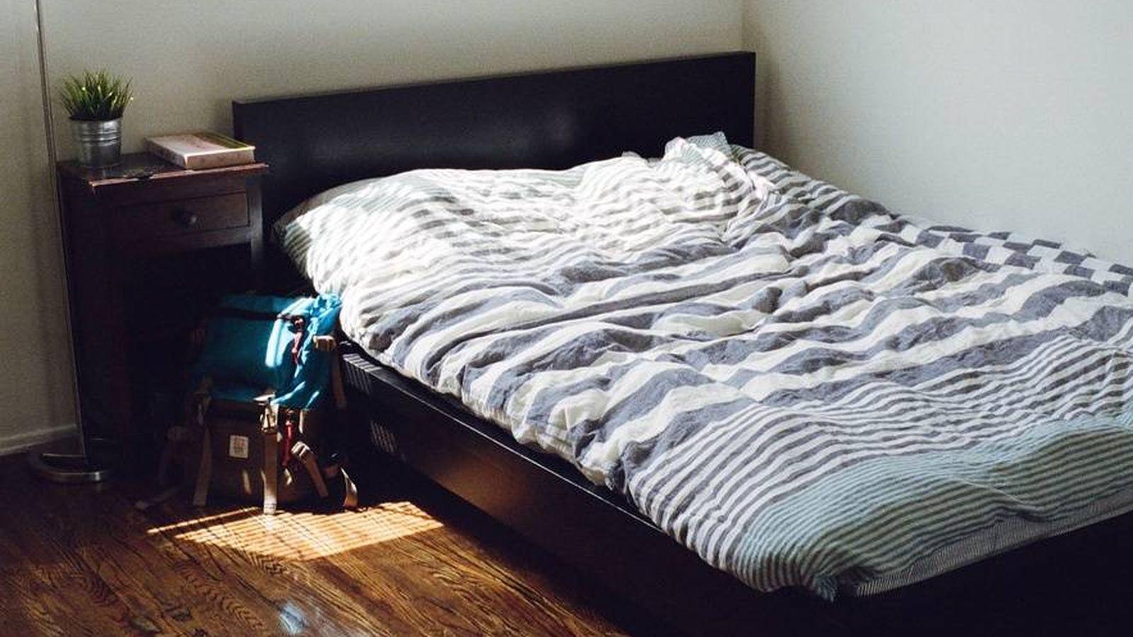 Foto: Interior de un dormitorio