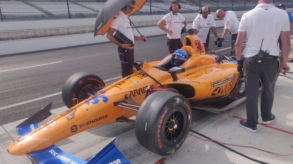 Foto: Fernando Alonso tuvo buenas noticias después de tres días para olvidar. (McLaren)