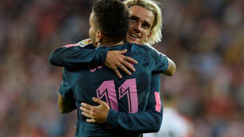 Correa prueba en Bilbao que puede ser un buen puente hasta Diego Costa