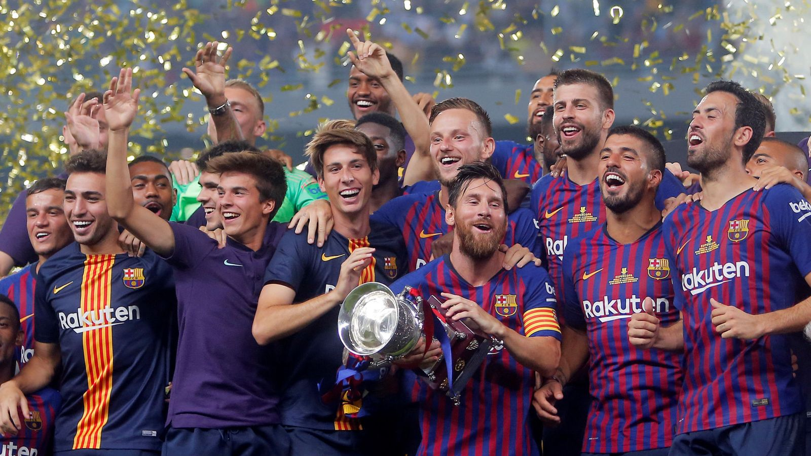Foto: Spanish super cup - barcelona v sevilla