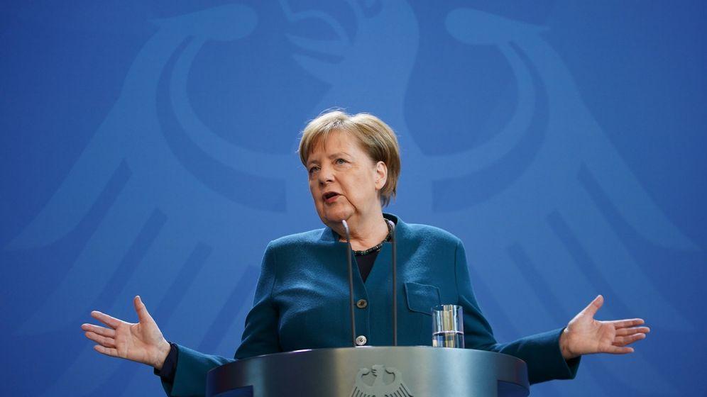 Foto: La canciller Angela Merkel. (EFE)