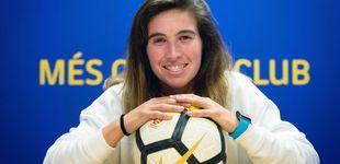 Post de Mariona Caldentey, la 'salvadora' del Barça que creció en la calle y busca ser olímpica