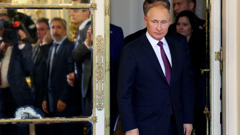 Foto: El presidente ruso Vladímir Putin, a su llegada a la Casa Rosada para un encuentro con Mauricio Macri, el 1 de diciembre de 2018. (Reuters)