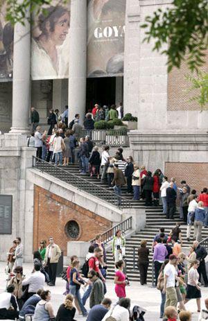 Prado, Thyssen y Reina Sofía superan los tres millones de visitas en 2008