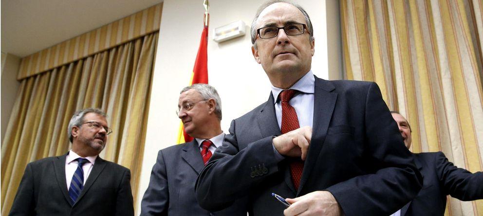 Foto: l presidente del Fondo de Reestructuración Ordenada Bancaria (FROB), Fernando Restoy. (EFE)
