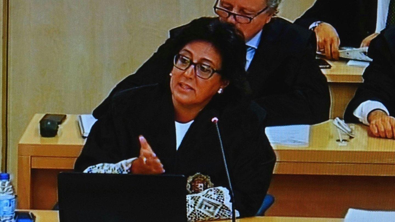 La fiscal, Carmen Launa. (EFE)